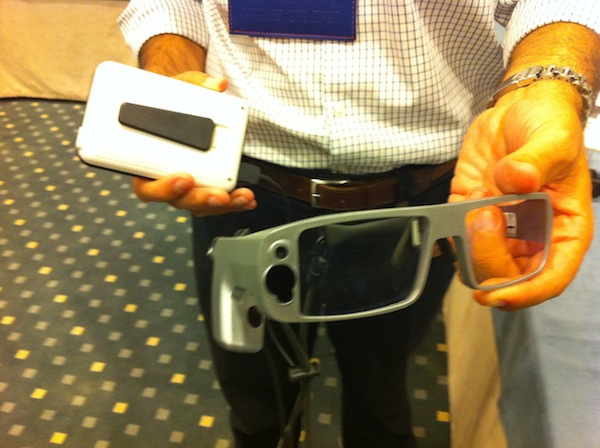 Lunette eye tracker Tobii Technology